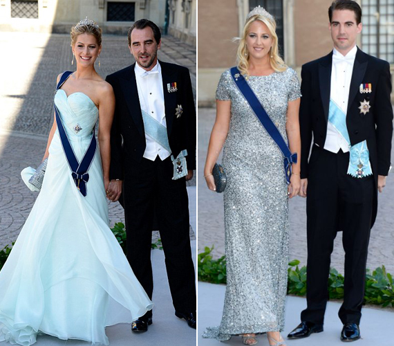 A görög hercegnők mentában díszelegtek a nemes napon.