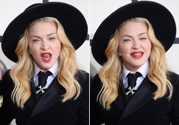 Madonna azt mondta az E! magazinnak, hogy azért szereti a fográcsot, mert úgy érzi, sérthetetlen, amikor hordja.