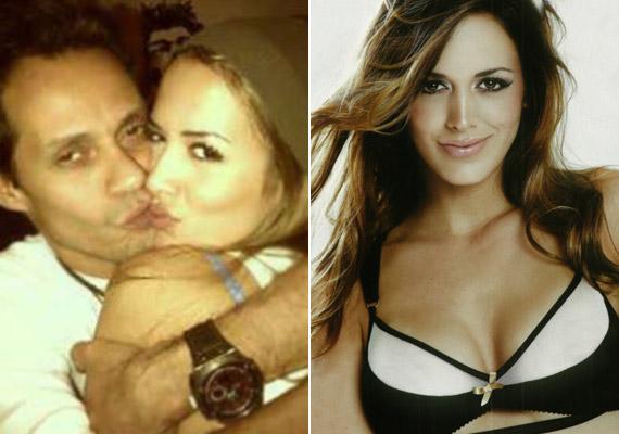 Marc Anthony a Facebookon mutatta meg a világnak új szerelmét, Shannon de Limát.