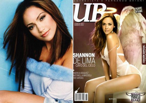 Az énekes volt felesége, Jennifer Lopez és új szerelme, Shannon de Lima sokak szerint nagyon hasonlítanak egymásra.