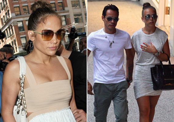 A mindössze 22 éves milliomos örökösnő gyakran hordja kontyba kötve haját és visel nagyméretű napszemüvegeket - csak úgy, mint Jennifer Lopez.