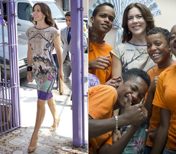 Karcsú alakján nem látszik meg, hogy már négygyerekes anyuka: az ikrek, Vince és Jozefina 2011. január 8-án látták meg a napvilágot.