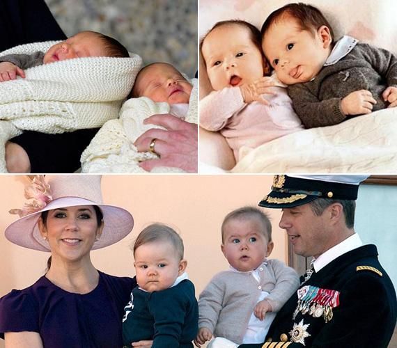 Vincent Frederik Minik Alexander, Dánia legkisebb hercege csak 26 perccel született előbb, mint húga, Josephine Sophia Ivalo Mathilda hercegnő.