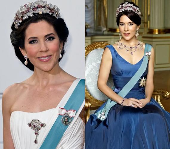 Mária szépsége mindenkit lenyűgöz, olyan szeretet övezi Dániában, amilyennel a britek Katalin hercegnét veszik körül.
