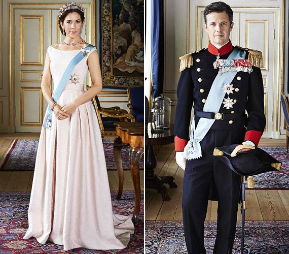 Mária hercegnő kedvenc ruháját, egy halványrózsaszín Carla Zampatti ruhát választott a fotózásra.