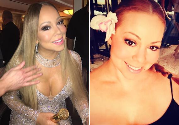 Nem elég a plasztika, a botox és a Photoshop, az énekesnő még számos filterrel is próbálja szebbé varázsolni magát a fotókon.