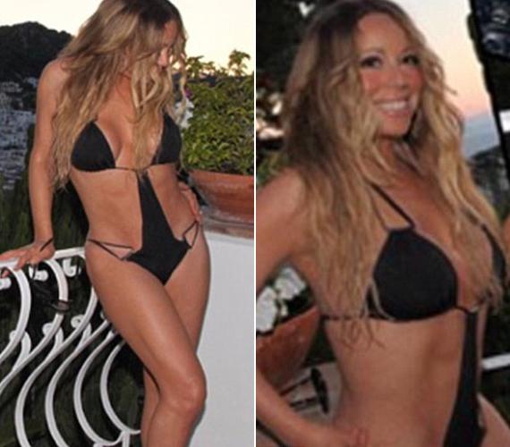 Ezt a fekete trikinit vitte még magával a klipforgatásra. 2011 óta 32 kilótól szabadult meg.