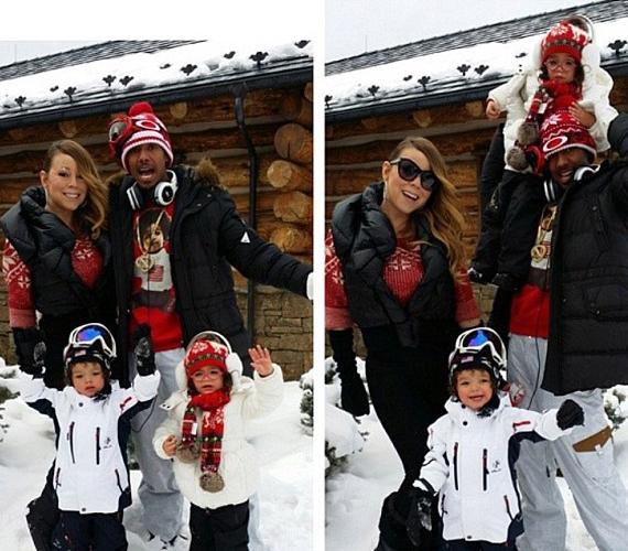 A karácsonyt még Aspenben töltötte a család, és Instagramra posztolós kedvüket akkor sem vesztették el.