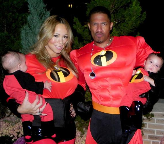 Mivel Mariah és Nick is vevők a mókára, korábban a Hihetetlen család című családi mozi szereplőinek is beöltöztek a gyerkőcökkel.