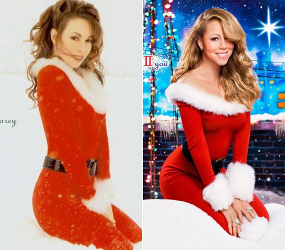 Már két karácsonyi lemezt is megjelentetett, amelynek borítján szexi mikuláslányként pózol.