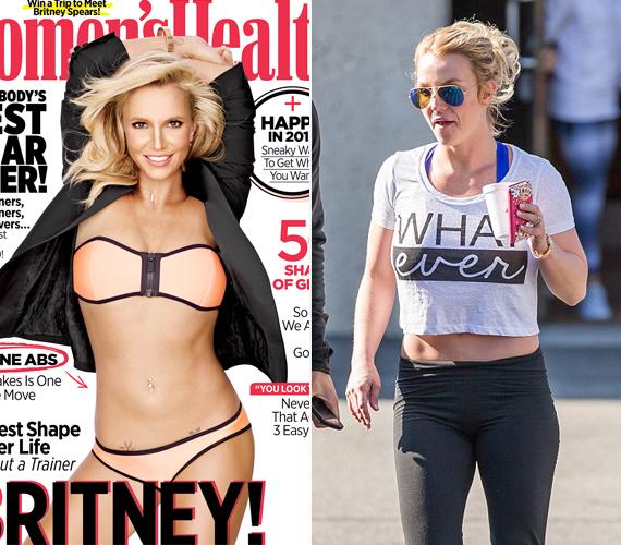 Britney Spears az utóbbi időben egészen összekapta magát, lefogyott, és újra jól néz ki. Ennek ellenére még csak nem is hasonlít magára a Women's Health magazin címlapján.