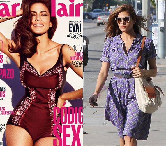 A Marie Claire magazin spanyol kiadásának még Eva Mendes sem volt elég darázsderekú, ezért utómunkával vékonyítottak rajta.
