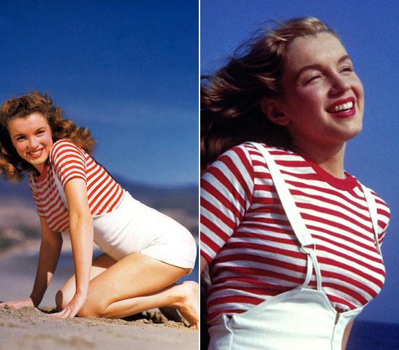 1944-ben egy hadianyaggyárban dolgozott betanított munkásként, amikor a hadsereg egyik fotósa felfedezte, és nemsokára modell lett. 1948-ban a 20th Century Fox szerződtette kisebb szerepekre, ekkor festette szőkére a haját, illetve változtatta meg a nevét.