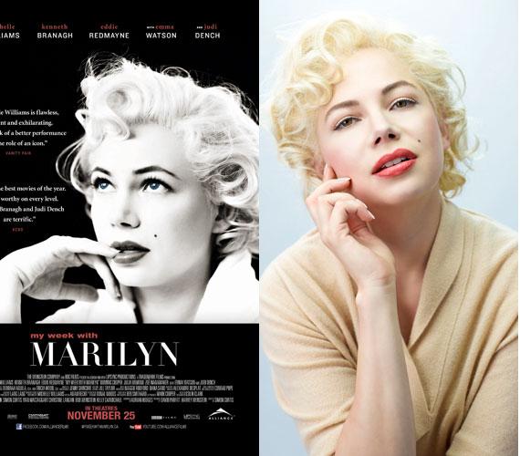 Az évfordulóra készült az Egy hetem Marilynnel című film is Michelle Williams főszereplésével.