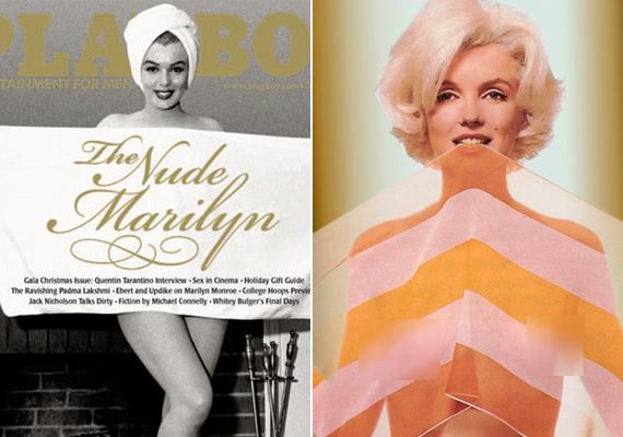 1953-ban az első Playboy címlapján szerepelt, az eredeti példányt Hugh Hefner őrzi.