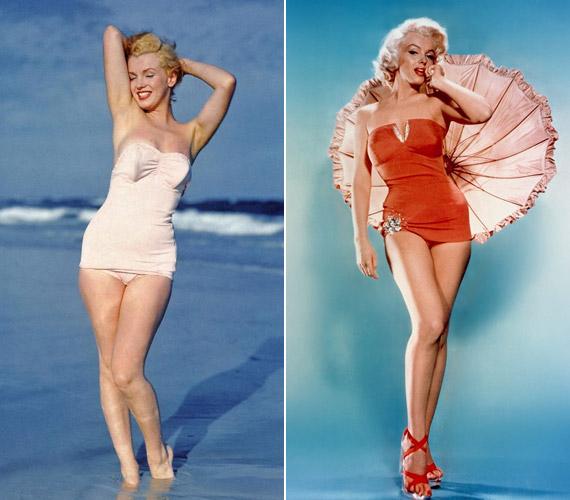Az 1962-ben elhunyt színésznő örök szexszimbólummá vált.