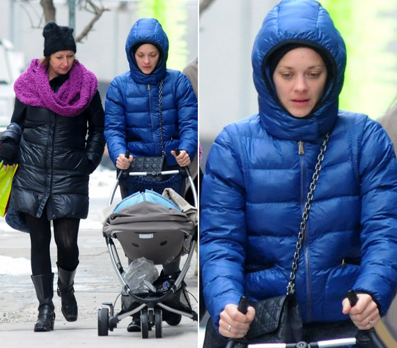 A 36 éves sztár 2011 májusában hozta világra kisfiát, aki a Marcel Canet nevet kapta.