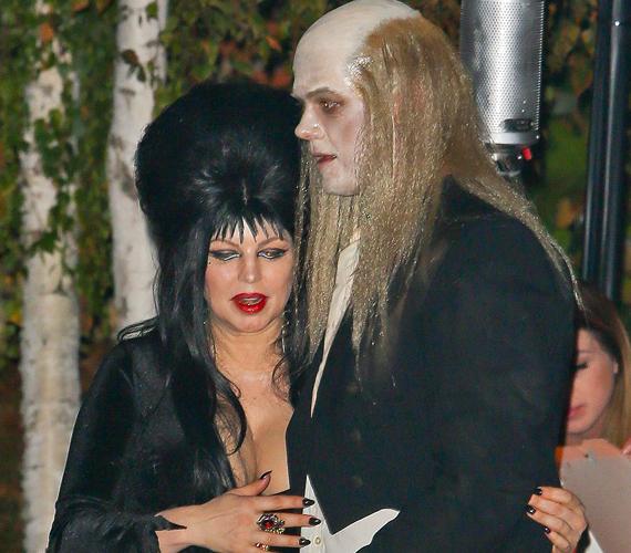 Fergie és férje, Josh Duhamel a Rocky Horror Picture Show két szereplőjének bőrébe bújt.