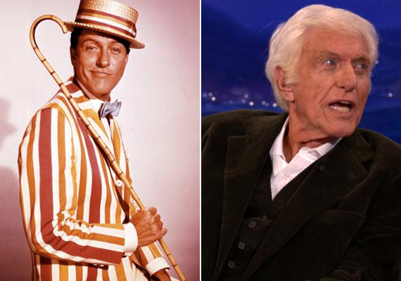 A kedvenc kéményseprőnket, Bertet alakító 90 éves Dick van Dykenak is a Mary Poppins hozta meg a világsikert. Műsora, a Dick van Dyke Show 5 évadot élt meg. Jelenleg is aktív, a Halálbiztos diagnózis sorozat egyik főszereplője volt, legutóbb pedig az Éjszaka a múzeumban című filmben láthattuk Ben Stiller mellett.