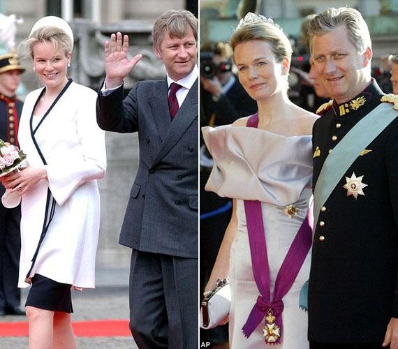 Matilda, akit egy nappal a házassága előtt belga hercegnővé neveztek ki, eleinte kissé ódivatú, konzervatív ruhákat viselt.