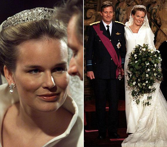 Fülöp herceg 1999. december 4-én vette feleségül Mathilda d'Udekem d'Acozt, Patrick d'Udekem d'Acoz gróf és felesége, Anna Maria Komorowska bárónő lányát. Az esküvői ruhát Edouard Vermeulen tervezte.