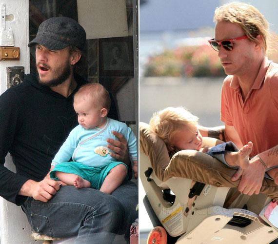 A kislány születése óta az édesapja szeme fénye volt, a színész kivette részét e gyereknevelésből.