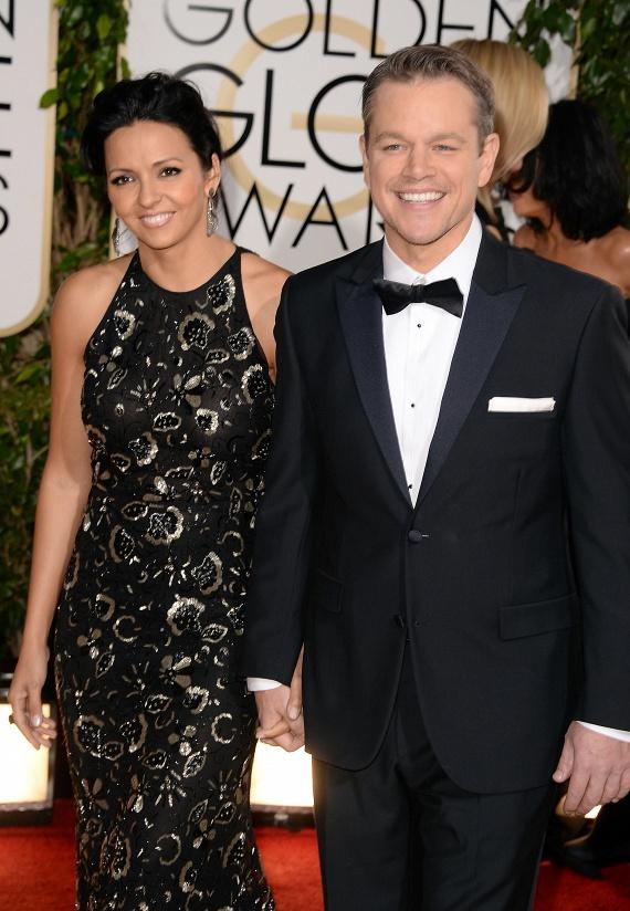 Állítólag szerelem volt első látásra Matt Damon és Luciana Barroso között. A nő ennyi év után is annyira odavan a színészért, hogy két hétnél tovább sehová nem is hajlandó elengedni őt, annyira hiányzik neki, ha elmegy.