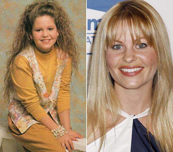A 36 éves Candace Cameron Bure bájos tinilányt alakított a Bír-lak című sorozatban. Azóta gyönyörű érett nővé és háromgyermekes családanyává vált.