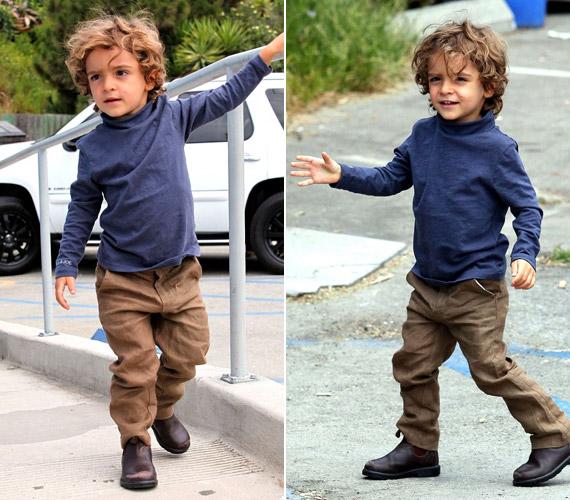 Cuki kisfiuk, Levi Alves McConaughey 2008 júliusában született - már igazi rosszcsont.
