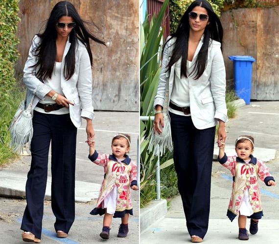 Kislányuk, Vida Alves McConaughey 2010 januárjában jött a világra, a csöpp kislány igazi szépség.