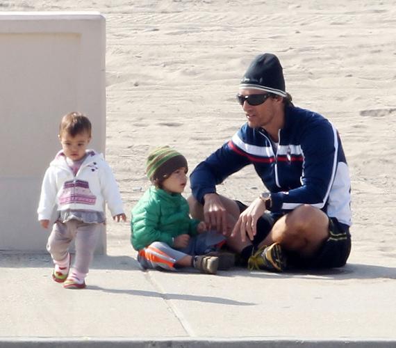 Két közös gyerekük született: Levi 2008-ban, Vida pedig 2010-ben látta meg a napvilágot.