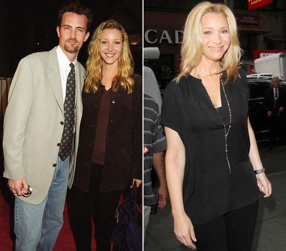 Vele ellentétben Lisa Kudrow még mindig remek formában van: a bal oldali kép 1997-ben egy filmpremieren, a jobb oldali július végén a The Today Show felvétele előtt készült.