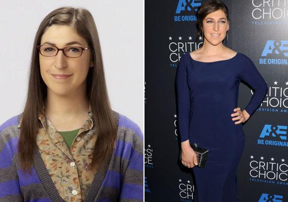 A nagy sikerű Agymenők sorozatban Amy egy konzervatív, csúnyácska, ám okos lányt alakít. A való életben Mayim Bialik szintén a legjobb iskolákba járt, a színészet mellett neurológusdiplomát is szerzett, akárcsak a karaktere a szériában.