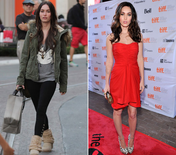 Rá sem lehet ismerni slamposan és smink nélkül a szépséges Megan Foxra.