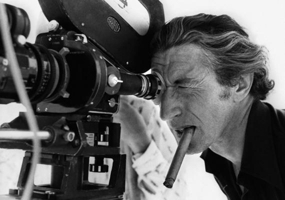 A leghíresebb kép róla a Halál a Níluson című film forgatásán készült. Állítólag olyan erősen koncentrált a felvétel alatt, hogy a szivar fele leégett a szájában, mire felocsúdott.