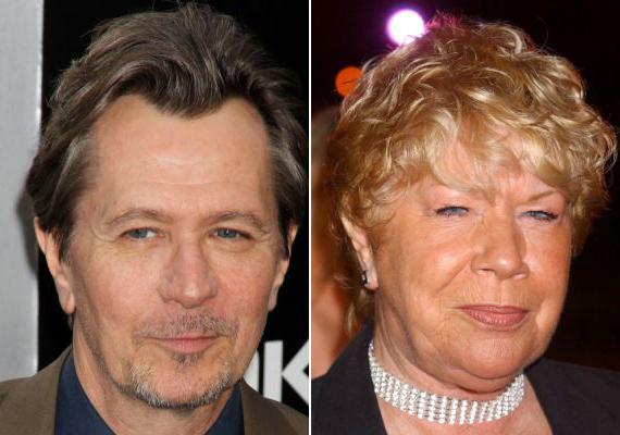 Gary Oldman és a sorozatszínésznő Laila Morse testvérek.