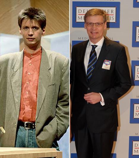 Günter JauchGünter Jauch, műsorvezető 1992-ben, első tévéadásának egyikén még egy farmeros, tűsi hajú fiatalember volt, mára pedig egy nagy műveltségű televíziós műsorvezető, aki a Legyen Ön is milliomos! német verzióját vezeti már több mint tíz éve.