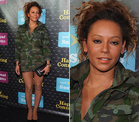 AzAmerica's Got Talent bírája nem volt szégyellős, egy szál katonai kabátban jelent meg.