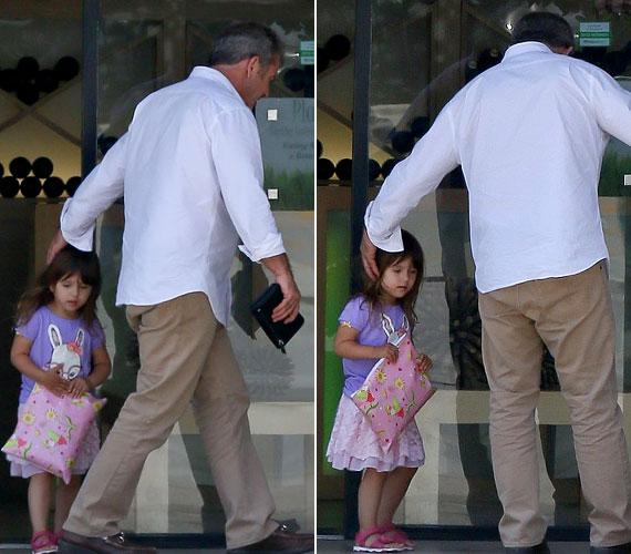 A tündéri kislány még csak hároméves: 2009 októberében látta meg a napvilágot a színész nyolcadik gyermekeként. Szülei alig fél évvel később szakítottak.