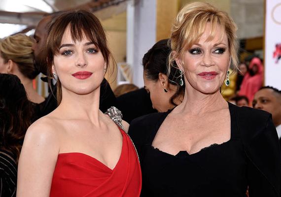 Utoljára a Szürke ötven árnyalata premierjén kapták lencsevégre a színésznőt. Kevesen tudják, de a film főszereplője, Dakota Johnson a lánya.