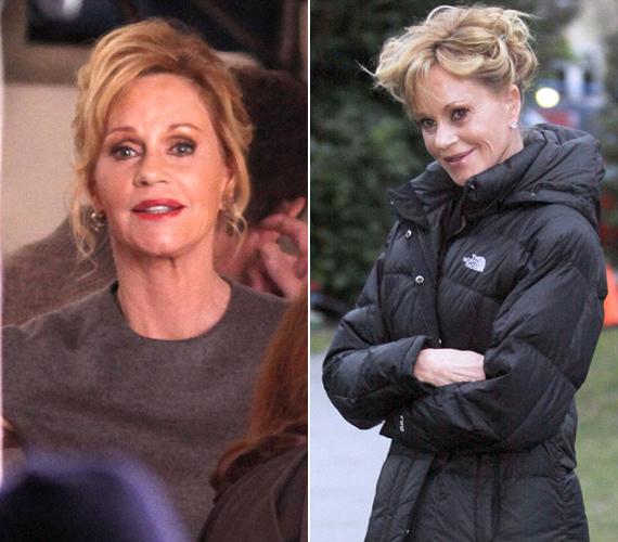 Melanie Griffith ezúttal kevesebbet plasztikáztatott, aminek eredménye meg is látszott a sorozat pilotjának forgatásán.