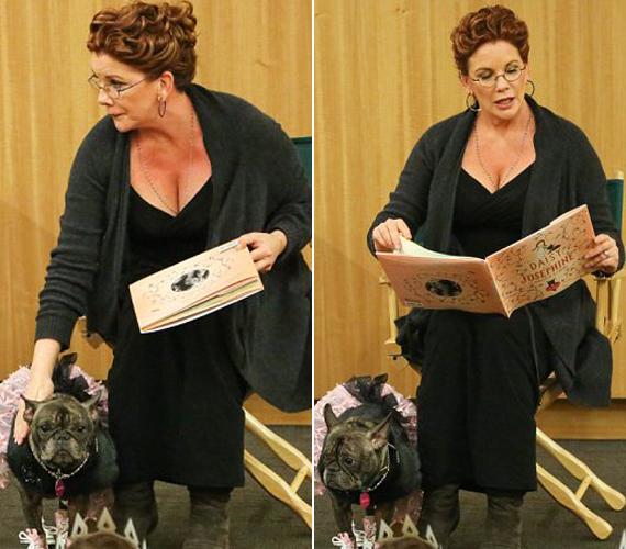 A színésznő kutyájának saját stylistja van.