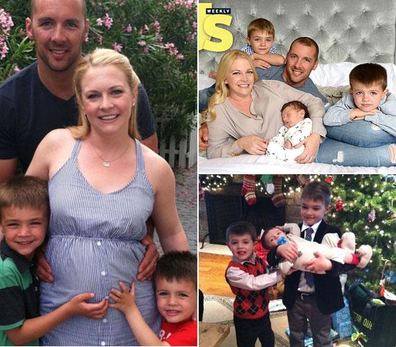 Zenész férje, Mark Wilkerson, akivel 2003 júliusában házasodott össze, rajong a fitneszért, így ő is segítségére volt a 36 éves színésznőnek abban, hogy az leadja a pluszkilókat. Három fiuk született: Walter 2006 januárjában, Braydon 2008 márciusában, Tucker tavaly szeptemberben.