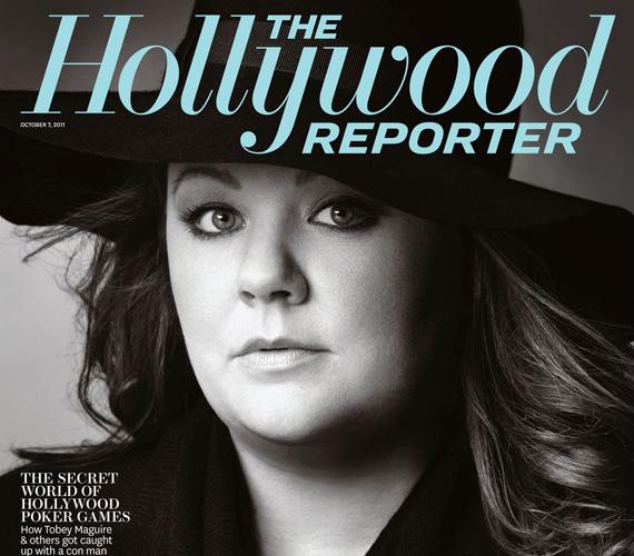 A tehetséges színésznőt manapság a magazinok is szívesen teszik címlapjukra.