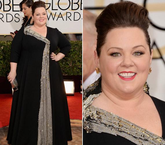 A 2014-es Golden Globe-díjátadón már saját ruhájában jelent meg.