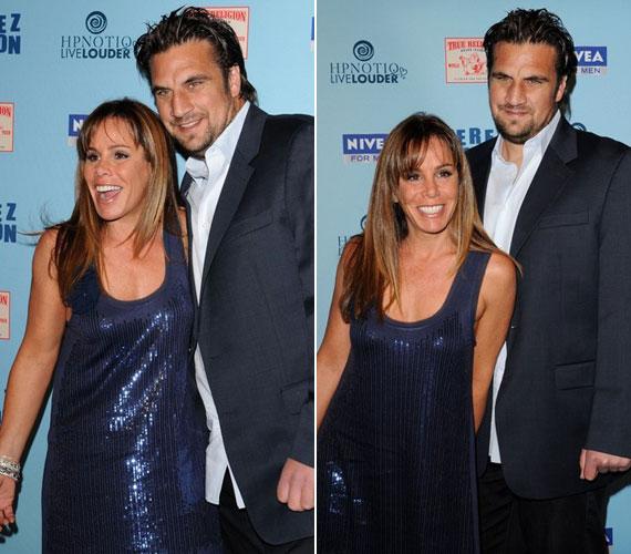 Melissa Rivers és Jason Zimmerman márciusban még boldogan pózoltak egymás oldalán Perez Hilton születésnapi partiján.