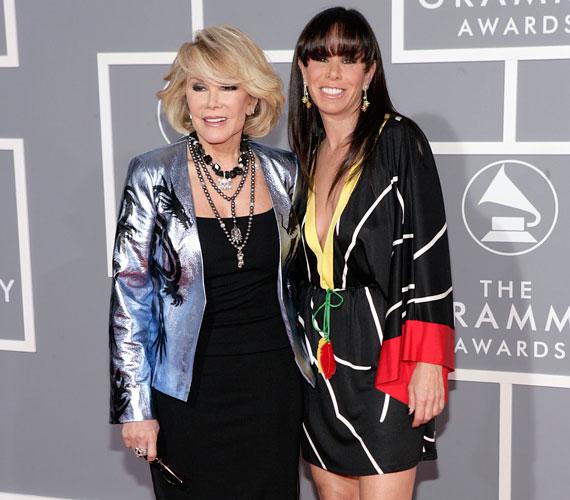 Melissa Rivers édesanyja nem más, mint Joan Rivers, Amerika egyik legismertebb és legnépszerűbb tévésztárja.