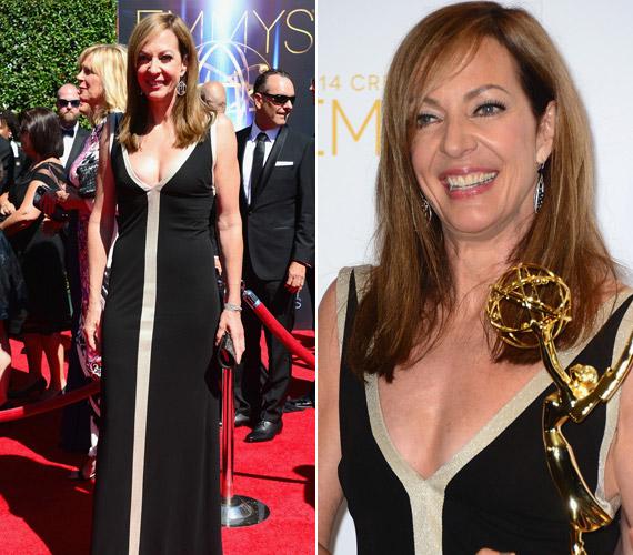 Az elnök emberei sorozat sztárja,Allison Janney díjat is kapott az átadón, aMasters of Sex sorozatban nyújtott alakításáért.