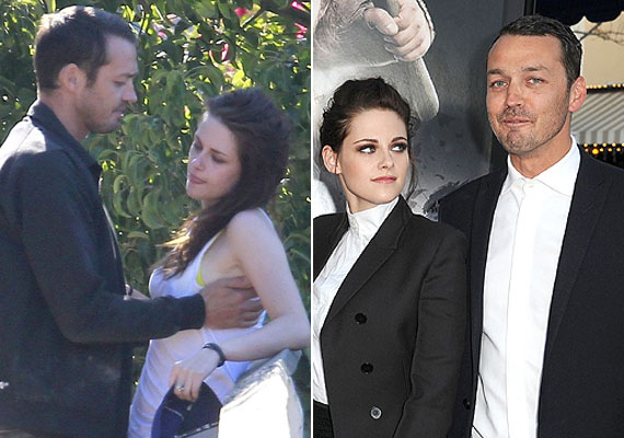 A Twilight-filmek Bellája, Kristen Steward hivatalosan még kollégájával, Robert Pattinsonnal járt, amikor az OK! magazin rajtakapta őt a Hófehér és a vadász rendezőjével, Rupert Sandersszel. A színész hónapokig nem tudott megbocsátani a színésznőnek, akiről azóta kiderült, inkább a nőkhöz vonzódik.