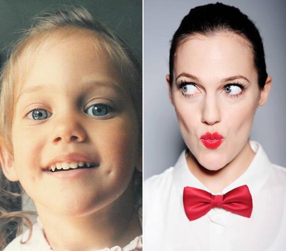 A bal oldalon látható fotó Meryem kislánykorában készült, úgy öt-hat éves lehet rajta. Sajnos nem írta mellé a pontos dátumot, de nagyjából erre lehet tippelni. A jobb oldali fotó néhány éve készült egy reklámfotózáson.